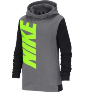 Nike Boys Pullover Hoodie Size Large